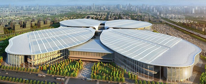 Shanghai National Exhibition and Convention Center (NECC)